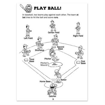 Let's Go To The Ballgame Educational Activities Book