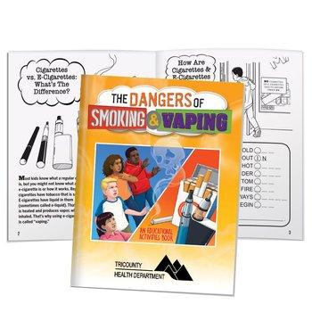 The Dangers Of Smoking & Vaping Educational Activities Book