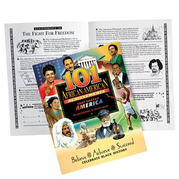 101 African-American Achievements That Shaped America Educational Activities Book