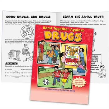 Band Together Against Bullying & Drugs Flipbook (50-Pack)