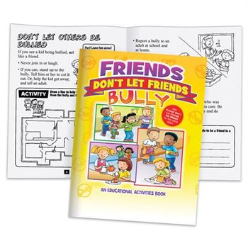 Friends Don't Let Friends Bully Or Do Drugs 2-In-1 Flipbook