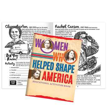 Women Who Helped Shape America Educational Activities Book