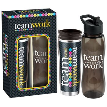 50 Years Of Service Gift - Deluxe Hot & Cold Beverage Gift Set