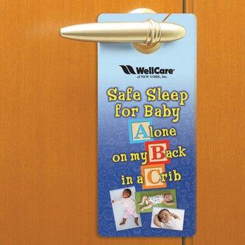 Safe Sleep For Baby Door Hanger