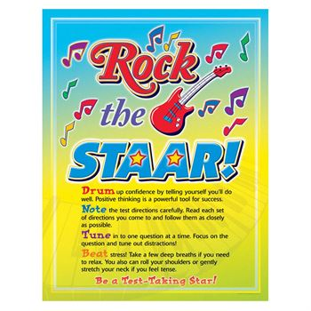 Rock The STAAR! Premium Full-Color Poster - Pack of 5