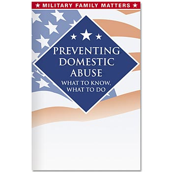 Military Family Handbook-Preventing Domestic Abuse - Personalization Available