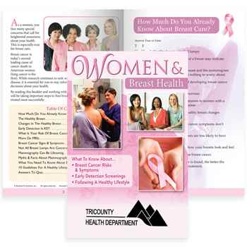 Women & Breast Health Handbook - Personalization Available