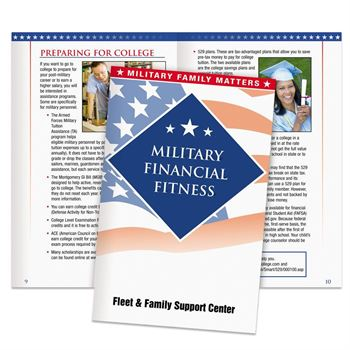 Military Financial Fitness Handbook - Personalization Available