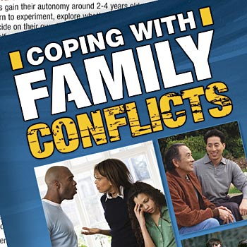 Coping With Family Conflicts Handbook - Personalization Available