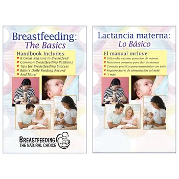 Breastfeeding: The Basics Bilingual Flip Book - Personalization Available