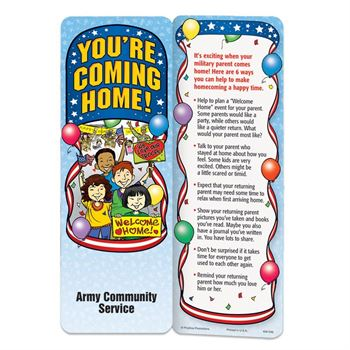 You're Coming Home! Bookmark - Personalization Available