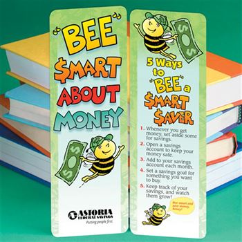 Bee Smart About Money Bookmark