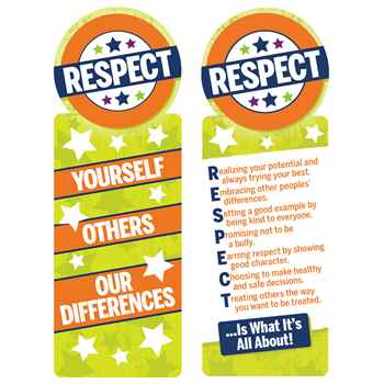 Respect Yourself, Others, Our Differences Bookmark