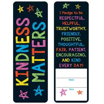Kindness Matters Pledge Bookmarks - Pack of 25