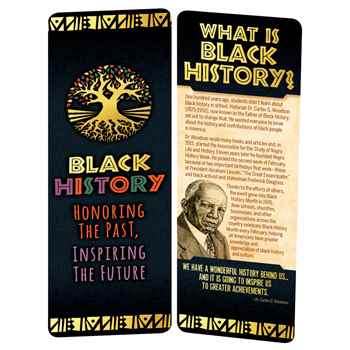 Black History: Honoring the Past, Inspiring the Future Bookmark