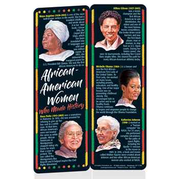 African-American Women Who Made History Bookmark