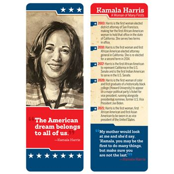 Kamala Harris Bookmark - Pack of 50