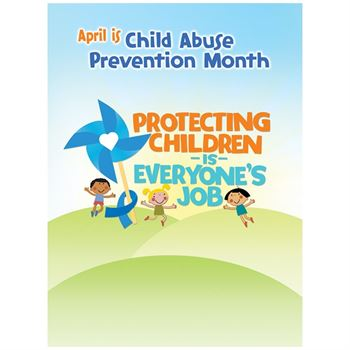Child Abuse Prevention Poster - Pack of 5