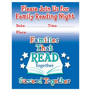Family Reading Night Poster