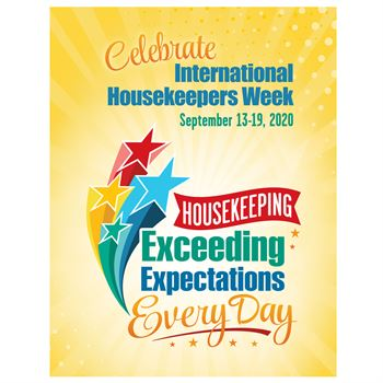 Housekeeping: Exceeding Expectations Every Day Event Poster - Pack of 5