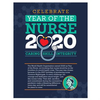 Year Of The Nurse 2020 Event Poster (SPECIAL EDITION) -5 per pack