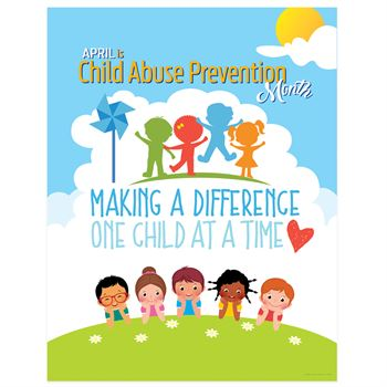 Making A Difference One Child At A Time 2-Sided Event Poster - 5 Posters Per Pack
