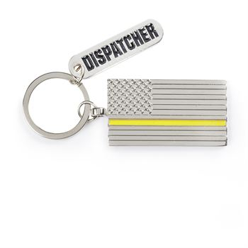 The Thin Gold Line Charm Key Tag With Keepsake Card