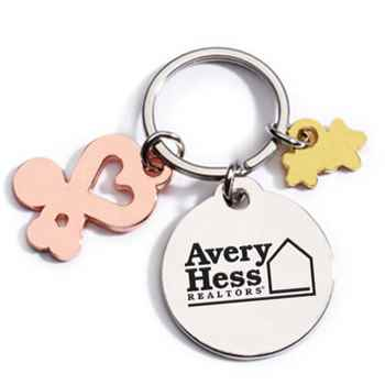 Charm Key Tag With Keepsake Card - Personalization Available
