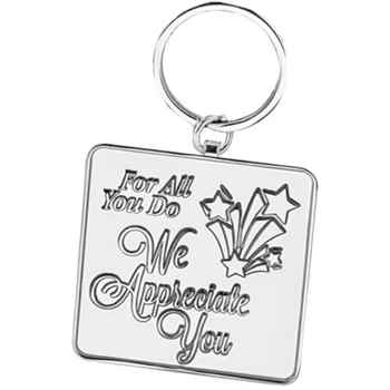 For All You Do We Appreciate You Key Tag With Keepsake Card - Personalized