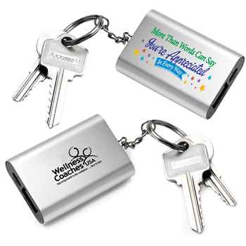 More Than Words Can Say You're Appreciated In Every Way Emergency Power Bank Key Tag - Personalization Available