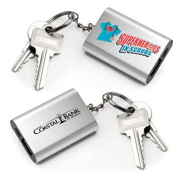 Superheroes In Scrubs Emergency Power Bank Key Tag - Personalization Available