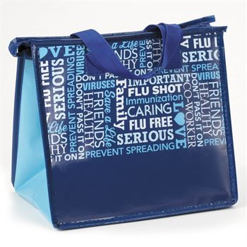 Flu & Cold Prevention Eco-Friendly Laminated Insulated Lunch Bag