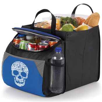 Radiology Team Skull Word Cloud Berkeley Cooler With Collapsible Storage Cube