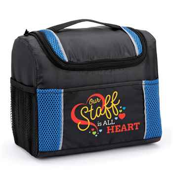 Our Staff Is All Heart Bayville Lunch/Cooler Bag