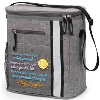 Maya Angelou Quote Westbrook Lunch/Cooler Bag