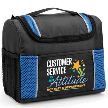 Customer Service Is An Attitude, Not Just A Department  Bayville Lunch/Cooler Bag