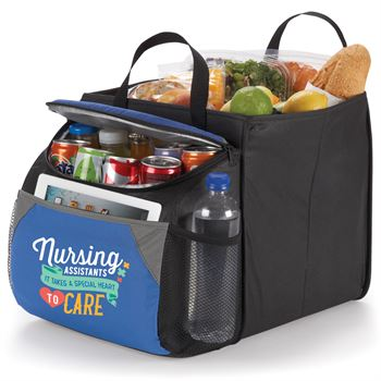 Nursing Assistants It Takes A Special Heart To Care Berkeley Cooler Bag With Collapsible Storage Cube