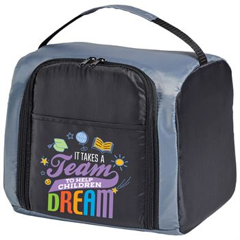 It Takes A Team To Help Children Dream Touch Springfield Cooler Lunch Bag