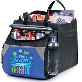 It Takes A Team To Help Children Dream Berkeley Cooler With Collapsible Storage Cube