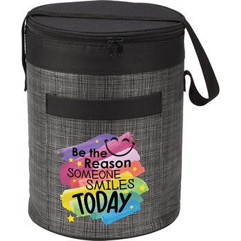Be The Reason Someone Smiles Today Brookville Barrel Cooler Bag