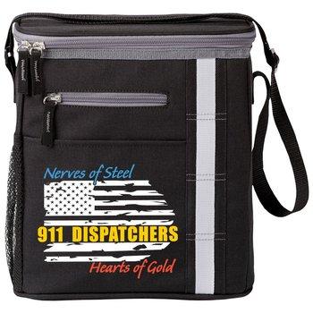 911 Dispatchers Nerves Of Steel Heart Of Gold Westbrook Lunch/Cooler Bag