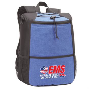 EMS Making A Difference One Call At A Time Hemingway Backpack Cooler