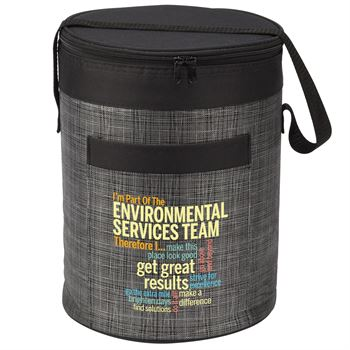 I'm Part Of The Environmental Services Team Therefore I... Brookville Barrel Cooler Bag