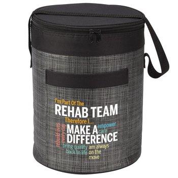 I'm Part Of The Rehab Team Therefore I... Brookville Barrel Cooler Bag