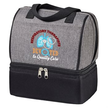 Respiratory Therapists: Devo2ted To Quality Care Riverton Lunch/Cooler Bag