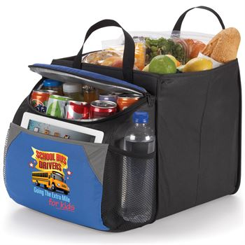 School Bus Drivers Going The Extra Mile For Kids Berkeley Cooler With Collapsible Storage Cube