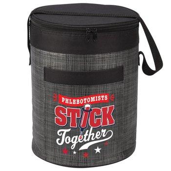 Phlebotomists Stick Together Brookville Barrel Cooler Bag