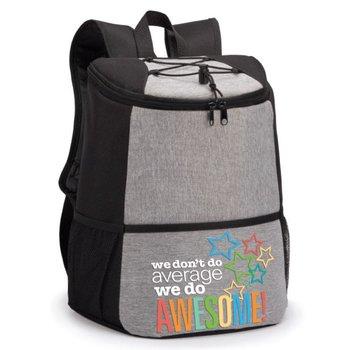 We Don't Do Average We Do Awesome! Hemingway Backpack Cooler
