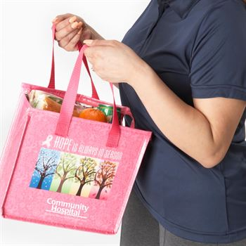 Hope Is Always In Season Laminated Insulated Lunch Bag With Personalization