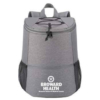 Gray Hemingway Backpack Cooler - Personalization Available